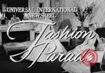 Image of Fashion Parade New York United States USA, 1957, second 3 stock footage video 65675055946