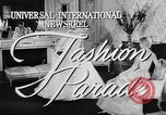 Image of Fashion Parade New York United States USA, 1957, second 4 stock footage video 65675055946