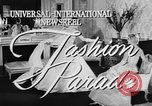 Image of Fashion Parade New York United States USA, 1957, second 5 stock footage video 65675055946