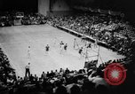 Image of basketball match Seattle Washington USA, 1957, second 7 stock footage video 65675055947