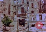 Image of damaged buildings Berlin Germany, 1945, second 9 stock footage video 65675055948