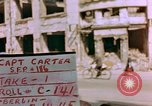 Image of damaged buildings Berlin Germany, 1945, second 3 stock footage video 65675055950