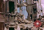 Image of damaged buildings Berlin Germany, 1945, second 7 stock footage video 65675055950
