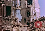 Image of damaged buildings Berlin Germany, 1945, second 10 stock footage video 65675055950
