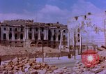 Image of damaged buildings Berlin Germany, 1945, second 9 stock footage video 65675055951