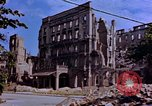 Image of damaged buildings Berlin Germany, 1945, second 1 stock footage video 65675055954