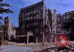 Image of damaged buildings Berlin Germany, 1945, second 2 stock footage video 65675055954