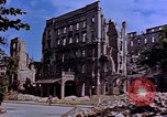 Image of damaged buildings Berlin Germany, 1945, second 9 stock footage video 65675055954