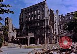 Image of damaged buildings Berlin Germany, 1945, second 10 stock footage video 65675055954