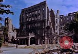 Image of damaged buildings Berlin Germany, 1945, second 12 stock footage video 65675055954