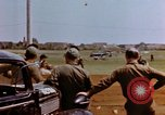 Image of United States airmen at airfield Germany, 1945, second 8 stock footage video 65675055964