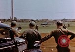 Image of United States airmen at airfield Germany, 1945, second 9 stock footage video 65675055964