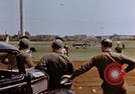 Image of United States airmen at airfield Germany, 1945, second 10 stock footage video 65675055964