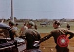 Image of United States airmen at airfield Germany, 1945, second 11 stock footage video 65675055964