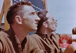 Image of United States airmen at airfield Germany, 1945, second 7 stock footage video 65675055966