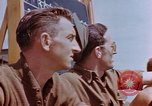 Image of United States airmen at airfield Germany, 1945, second 8 stock footage video 65675055966