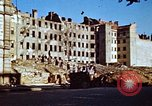 Image of bomb damaged buildings Germany, 1945, second 12 stock footage video 65675055967