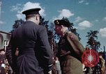 Image of Bernard Law Montgomery Berlin Germany, 1945, second 4 stock footage video 65675055975