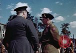 Image of Bernard Law Montgomery Berlin Germany, 1945, second 6 stock footage video 65675055975