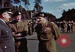 Image of Bernard Law Montgomery Berlin Germany, 1945, second 11 stock footage video 65675055975