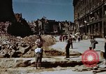 Image of bomb damaged buildings Berlin Germany, 1945, second 1 stock footage video 65675055980