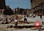 Image of bomb damaged buildings Berlin Germany, 1945, second 5 stock footage video 65675055980