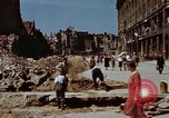Image of bomb damaged buildings Berlin Germany, 1945, second 6 stock footage video 65675055980