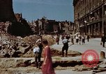 Image of bomb damaged buildings Berlin Germany, 1945, second 7 stock footage video 65675055980
