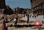 Image of bomb damaged buildings Berlin Germany, 1945, second 8 stock footage video 65675055980