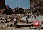 Image of bomb damaged buildings Berlin Germany, 1945, second 9 stock footage video 65675055980