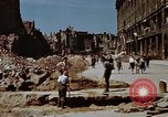 Image of bomb damaged buildings Berlin Germany, 1945, second 10 stock footage video 65675055980
