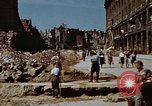 Image of bomb damaged buildings Berlin Germany, 1945, second 11 stock footage video 65675055980