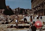 Image of bomb damaged buildings Berlin Germany, 1945, second 12 stock footage video 65675055980