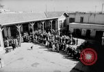 Image of voters lined up Egypt, 1953, second 1 stock footage video 65675056002