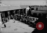 Image of voters lined up Egypt, 1953, second 3 stock footage video 65675056002