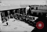 Image of voters lined up Egypt, 1953, second 4 stock footage video 65675056002