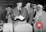 Image of voters lined up Egypt, 1953, second 12 stock footage video 65675056002
