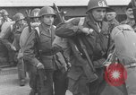 Image of Soldiers board troop ship France, 1955, second 3 stock footage video 65675056007