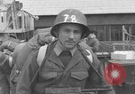 Image of Soldiers board troop ship France, 1955, second 4 stock footage video 65675056007