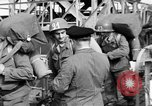 Image of Soldiers board troop ship France, 1955, second 12 stock footage video 65675056007