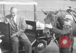 Image of Dwight Eisenhower Gettysburg Pennsylvania USA, 1956, second 10 stock footage video 65675056028