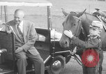 Image of Dwight Eisenhower Gettysburg Pennsylvania USA, 1956, second 12 stock footage video 65675056028