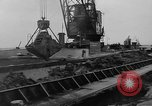 Image of Dredging Netherlands, 1957, second 4 stock footage video 65675056030