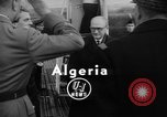Image of Guy Mollet Algeria, 1956, second 6 stock footage video 65675056061