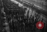 Image of French colonial military veterans parade Algiers Algeria, 1956, second 4 stock footage video 65675056063