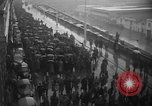 Image of French colonial military veterans parade Algiers Algeria, 1956, second 5 stock footage video 65675056063