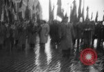 Image of French colonial military veterans parade Algiers Algeria, 1956, second 8 stock footage video 65675056063