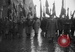 Image of French colonial military veterans parade Algiers Algeria, 1956, second 9 stock footage video 65675056063