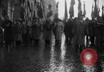 Image of French colonial military veterans parade Algiers Algeria, 1956, second 10 stock footage video 65675056063