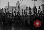 Image of French colonial military veterans parade Algiers Algeria, 1956, second 11 stock footage video 65675056063